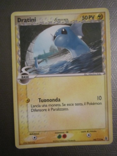 carte pokemon,dratini