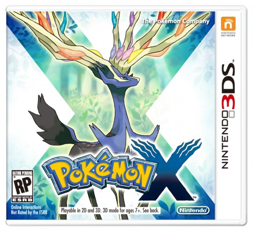 cover pokemon x
