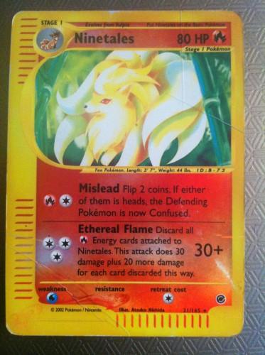 Carta Pokemon Ninetales in Inglese.JPG