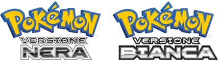 Logo Pokemon Bianco e Nero Italiano.PNG