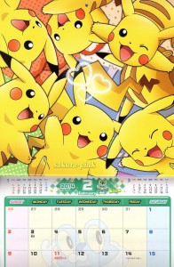 Calendario Pokemon 2014