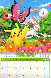 Calendario Pokemon 2014 3