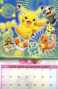 Calendario Pokemon 2014 4