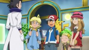 Episodio XY010 - Chespin contro MegaMegaMeowth!! di Pokemon X e Y