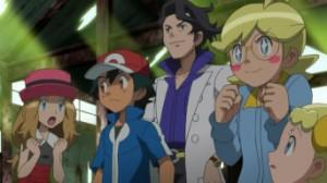 Episodio XY010 - Chespin contro MegaMegaMeowth!! di Pokemon X e Y 5