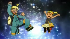 Episodio XY010 - Chespin contro MegaMegaMeowth!! di Pokemon X e Y 7