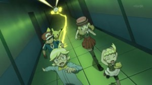 XY 009 Cattura la Palestra di Luminopoli! Il Segreto di Lem!! Pokemon X e Y 4