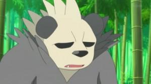 XY011 - Inseguimento nella Foresta Bamboo! Pancham e Pangoro!! di Pokemon X e Y 3