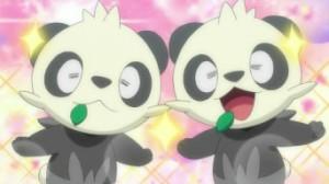 XY011 - Inseguimento nella Foresta Bamboo! Pancham e Pangoro!! di Pokemon X e Y